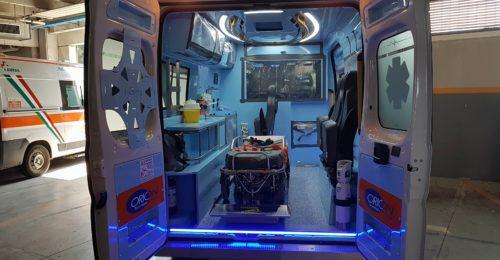 PA Ambulanza Covid