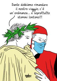 Dante Virgilio Coronavirus Costantini
