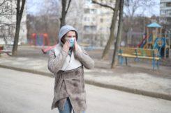 Woman Wearing Face Mask 3973873