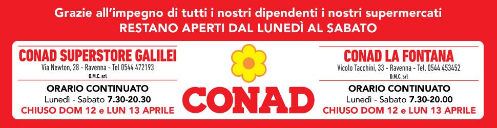CONAD APERTI BILLB 22 03 -30 04 20