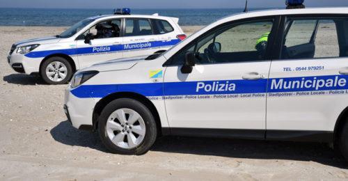 Polizia Controlli Covid Spiaggia 2