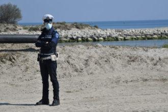 Polizia Controlli Covid Spiaggia 3