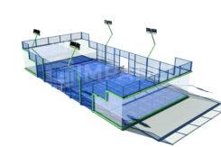 Tennis Club Faenza Rendering Nuovi Campi Da Padel
