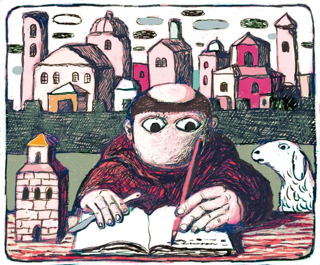 Andrea Agnello Caricatura