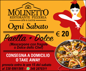MOLINETTO PAELLA SABATO MRT2 26 05 – 08 06 20