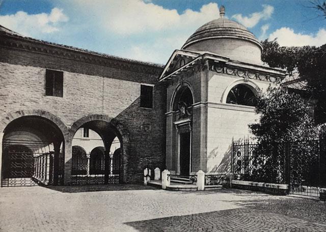 Tomba Di Dante Cartolina