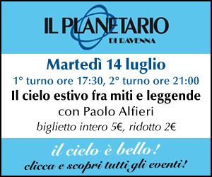 PLANETARIO – MRMID EVENTO 14 07 – dal 07 al 14 07 20