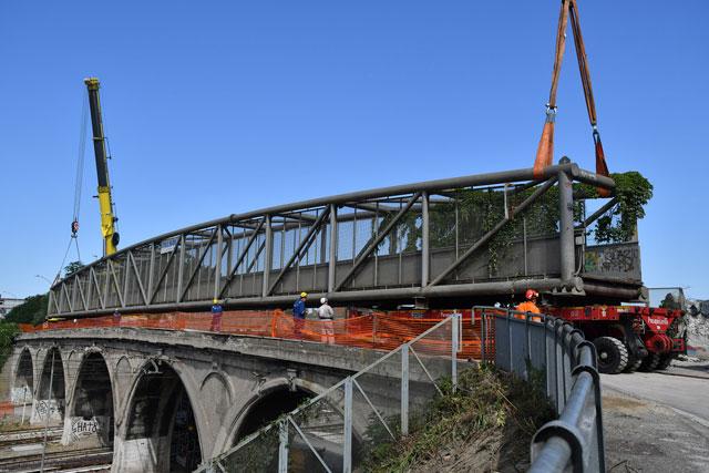 Ponte Teodorico Cantiere 1