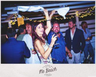 Me Beach Cena Spettacolo