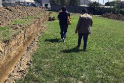 Davide Ranalli E Veronica Valmori Al Sopralluogo Lavori Vasca Di Laminazione (2)