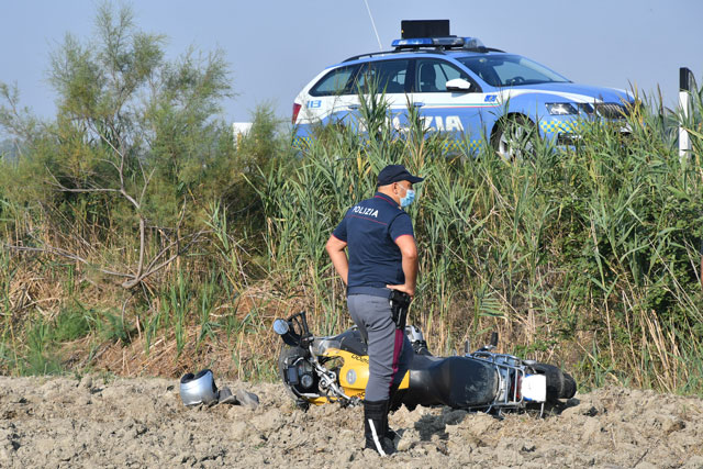 Incidente Romea Polizia 1