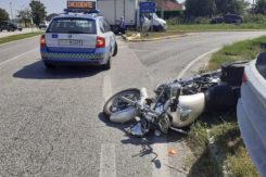 Incidente Reale Voltana Motociclista