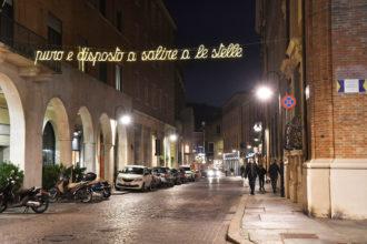 Luminarie Dante Via Gordini