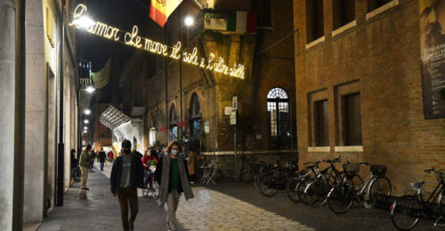 Luminarie Dante Via Ricci 2