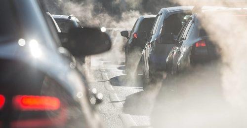 Blocco Traffico Smog Emissione Auto