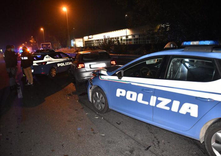 Inseguimento Polizia Incidente