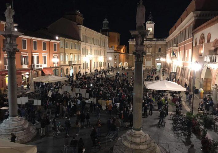Protesta Piazza Del Popolo 26 Ottobre