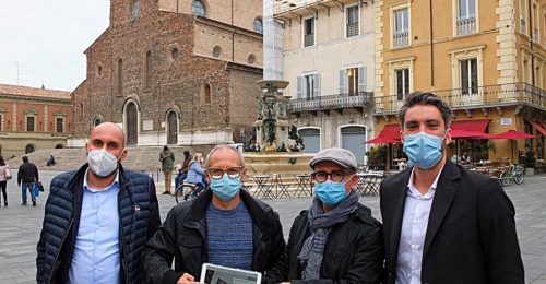 Da Sinistra Andrea Fabbri, Sergio Scipi, Giuseppe Falconi E Davide Agresti