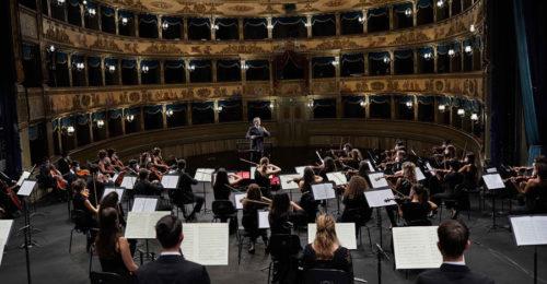 Il maestro Muti e l'Orchestra Cherubini al teatro Alighieri di Ravenna