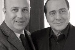 Silvio Berlusconi E Nazzareno Carusi © Archivio Privato