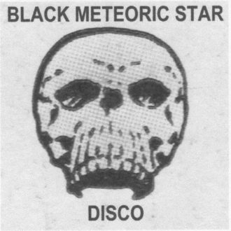 Disco Black Meteoric Star