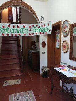 Il benvenuto al sindaco di Bagnara Francone dopo il ritorno dal ricovero in ospedale