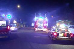 Vigili del fuoco e ambulanza in via Bargigia a Ravenna