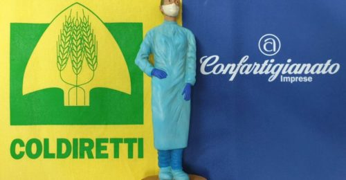 statuina infermiera presepe
