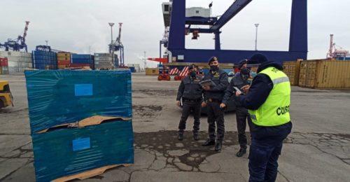 guardia di finanza sequestra piastrelle cinesi a ravenna