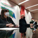 Foto Conferenza Stampa Bonaccini Corsini