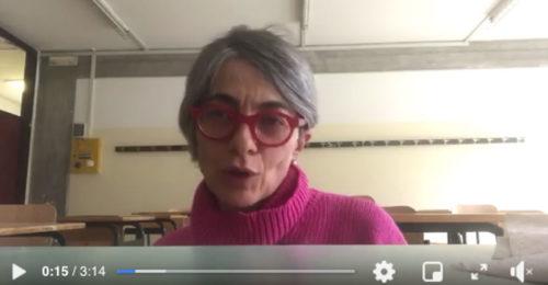 Gloria Ghetti Professoressa Faenza