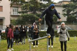 PRESENTAZIONE PALESTRA ALL'APERTO GIARDINO AMADESI A RAVENNA