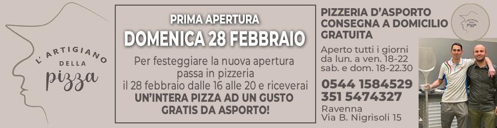 ARTIGIANO DELLA PIZZA POPUP INAUGURAZIONE 27 – 28 02 21