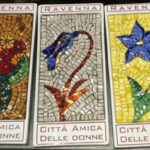 Fiori A Mosaico Linea Rosa