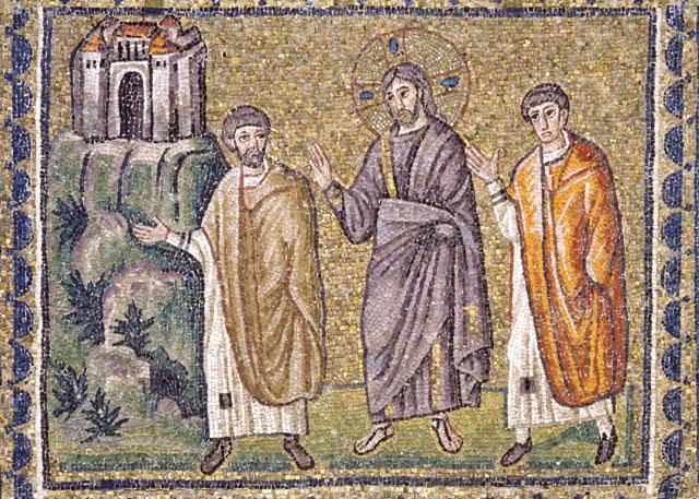 S. Apollinare Nuovo Mosaici Emmaus