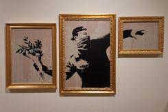 Banksy serigrafia murales