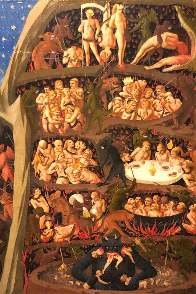 Beato Angelico Inferno Part