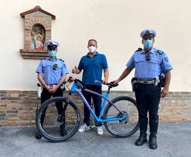 Bici Rubata Polizia Locale