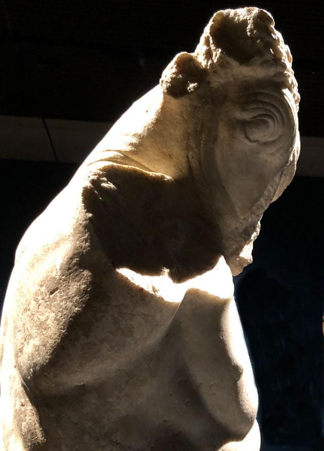 Minotauro Arte Romana