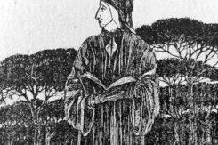 Cartolina Dante Ridimensionata