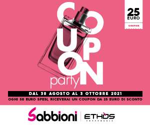 SABBIONI COUPON PARTY – MR HOME MID 30 08 – 30 09 21