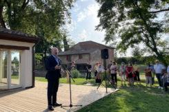 Il Presidente Bonaccini mulino scodellino