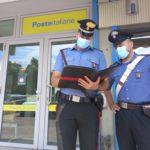 Carabinieri Poste Pinarella Rapina