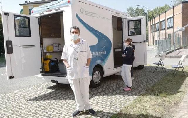 Camper Vaccinazioni