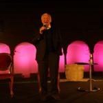 11–09 2021 ; Ravenna; Chiostri . Festival Dante 2021 Enrico Mentana , E Mogol