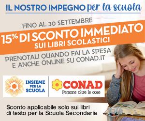 CONAD LIBRI SCUOLA BILLB 01 – 30 09 21