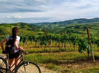 In Bici Tra Le Vigne