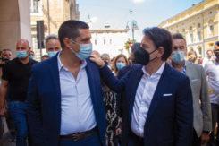 Michele De Pascale E Giuseppe Conte